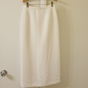 Long White Skirt